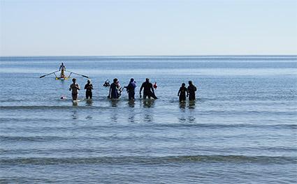 Iniziative legate ad escursioni nella barriera sommersa di Riccione