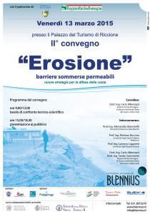 manifesto convegno erosione Blennius